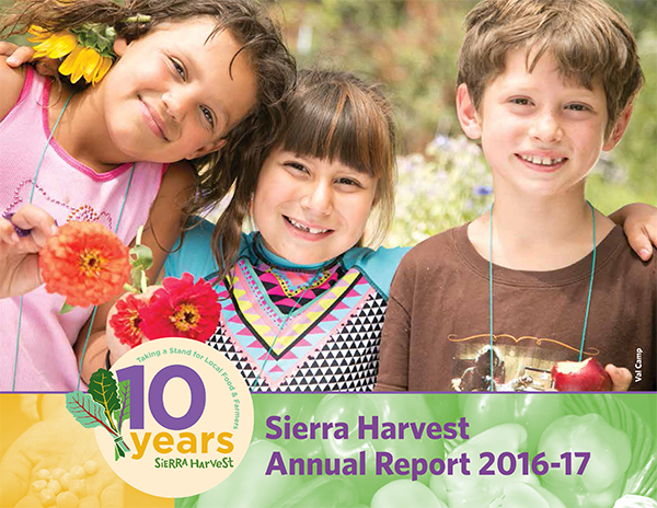Sierra harvest annual report