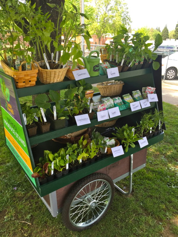 farm to school garden cart, sierra harvest