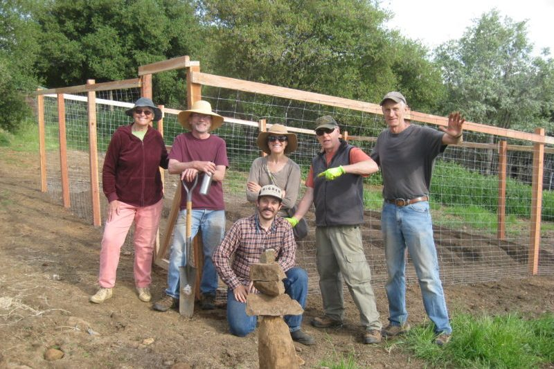 Sierra Harvest Volunteer Crew 2018