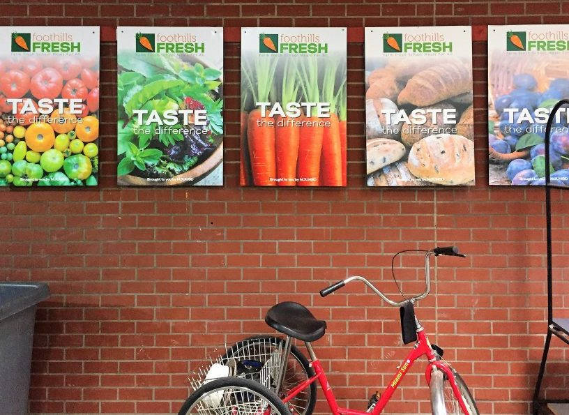 B. Students can taste the difference with the Foothills Fresh School Lunch Program