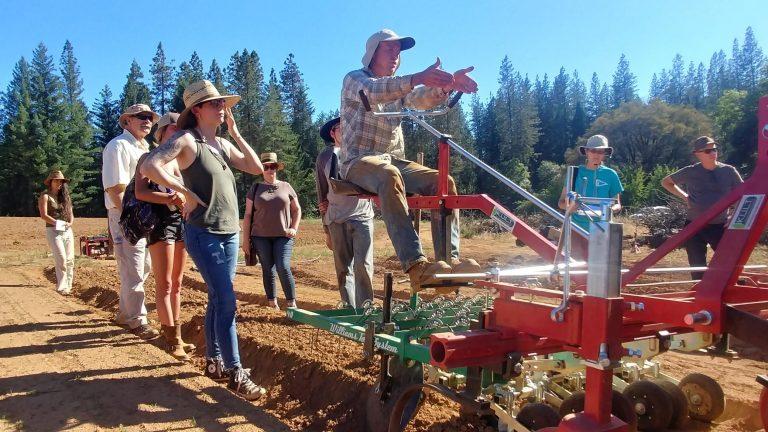 eremy Mineau of Super Tuber teaching a Farm Crew Class - Molly Nakahara