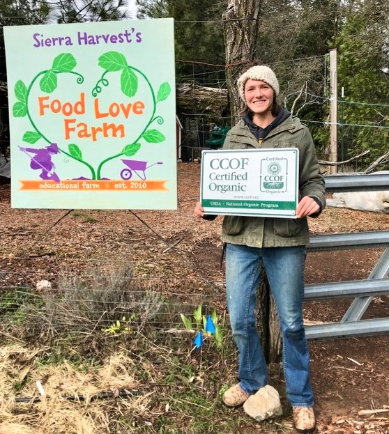 2019 - Emily Koller at Food Love Farm - CCOF