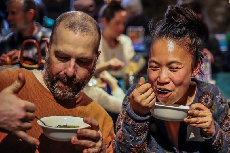 2019 enjoying Soup Night - Jason Scallin photographer