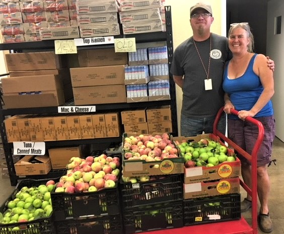 fruit donation to IFM 2018