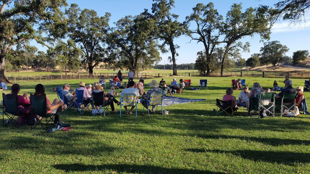 robinson ranch farm potluck 2018