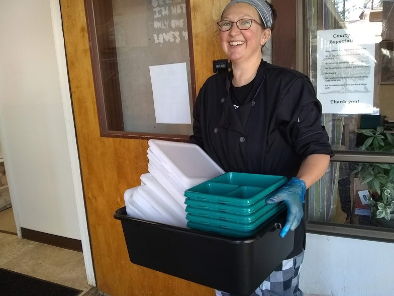 Dre Maher at Nevada City School of the Arts new  Food Services Director
