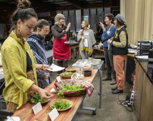 wild foraging workshop at sierra harvest food and farm conference 2020