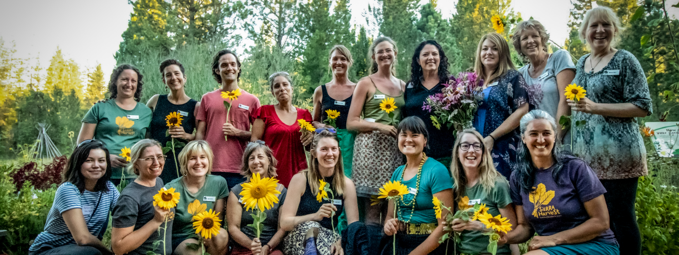 Sierra Harvest staff 2019