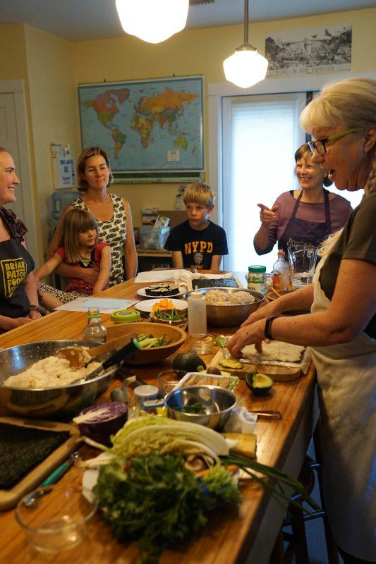 Sierra Garden cooking class
