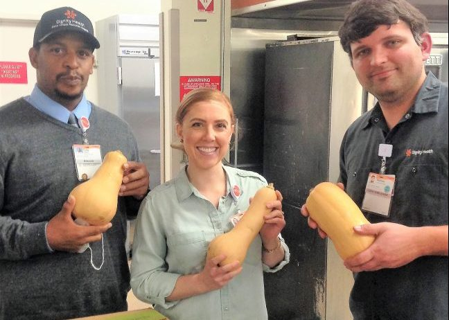 butternut squash at the hospital